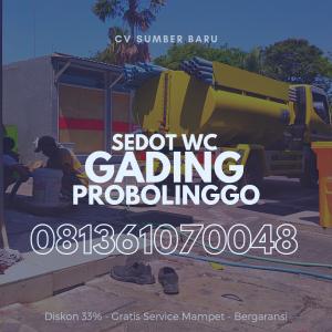 Sedot WC Gading Probolinggo