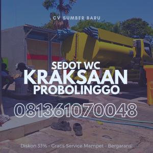 Sedot WC Kraksaan Probolinggo