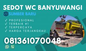 Sedot WC Banyuwangi