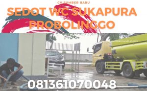 Sedot WC Sukapra Probolinggo