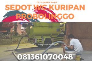 Sedot WC Kuripan Probolinggo