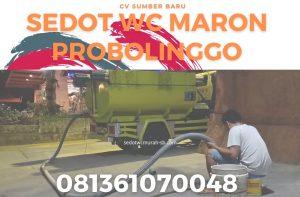 Sedot WC Maron Probolinggo