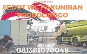 Sedot WC Pakuniran Probolinggo